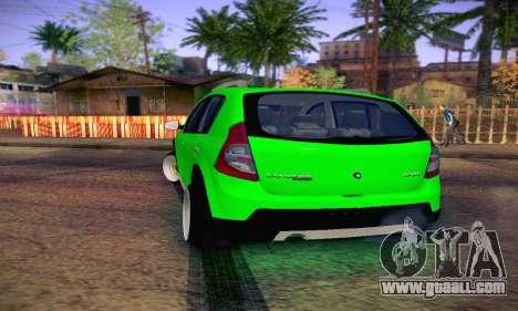 Dacia Sandero for GTA San Andreas right view