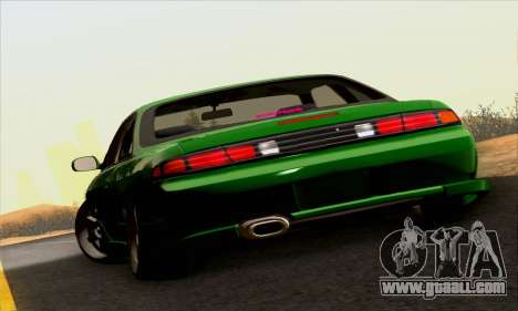 Nissan Silvia S14 Stance for GTA San Andreas back view