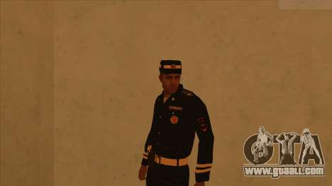 Skins police and army for GTA San Andreas third screenshot