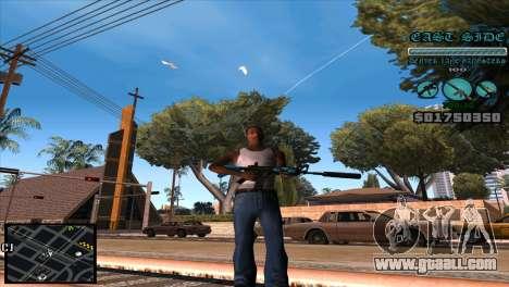 C-HUD Lane Gangsters for GTA San Andreas