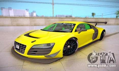 Audi R8 LMS Ultra v1.0.0 for GTA San Andreas