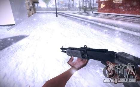 Spas 12 for GTA San Andreas second screenshot