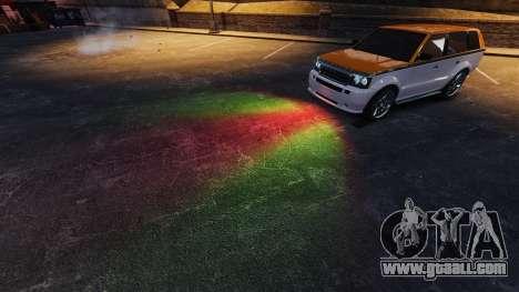 Mixed headlights for GTA 4