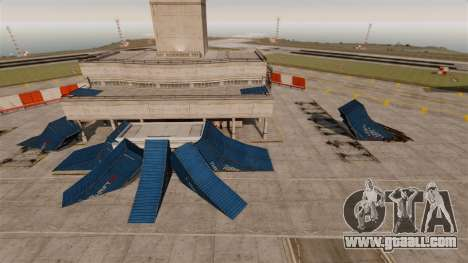 Trick-Park at the airport for GTA 4 second screenshot