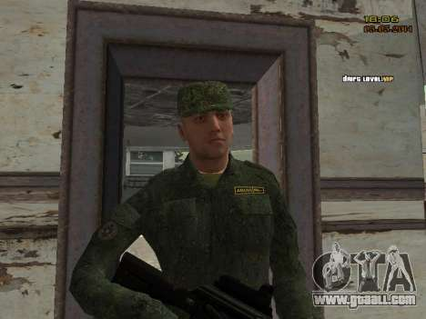 The Modern RUSSIAN Army for GTA San Andreas tenth screenshot