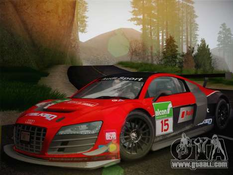 Audi R8 LMS Ultra Old Vinyls for GTA San Andreas side view