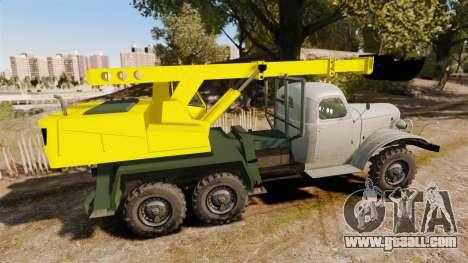 ZIL-157 GVK-32 for GTA 4 left view