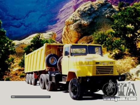 Boot screens Soviet Trucks for GTA San Andreas forth screenshot