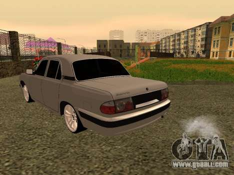 GAZ 31105 Volga for GTA San Andreas right view