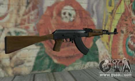 AK47 from L4D for GTA San Andreas second screenshot