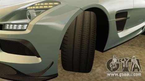 Mercedes-Benz SLS 2014 AMG Black Series for GTA 4 upper view