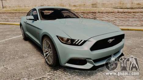 Ford Mustang GT 2015 v2.0 for GTA 4