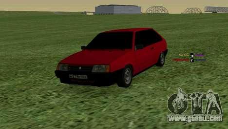 VAZ-2108 for GTA San Andreas