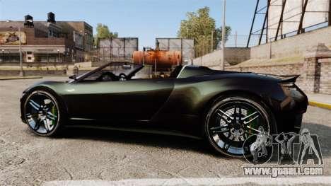 GTA V Dinka Jester [Redone] for GTA 4 left view
