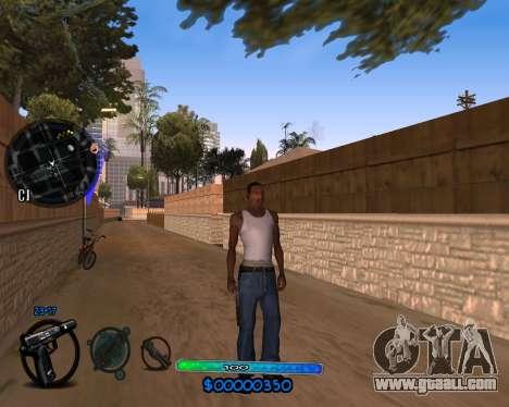 C-HUD by Vadya for GTA San Andreas