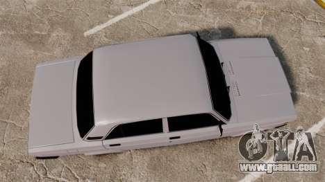 VAZ-2107 Lada for GTA 4 right view