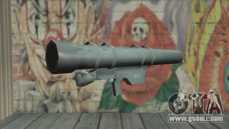 Rocket launcher for GTA San Andreas