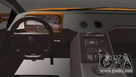 Lamborghini Diablo Stretch for GTA San Andreas back view