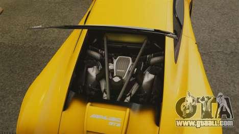 McLaren MP4-12C GT3 (Updated) for GTA 4 inner view