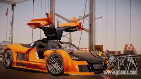 Gumpert Apollo Sport V10 for GTA San Andreas left view