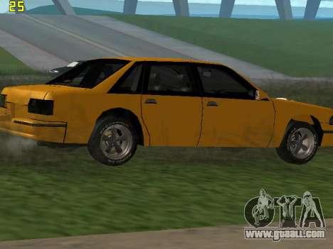 Premier 2012 for GTA San Andreas upper view