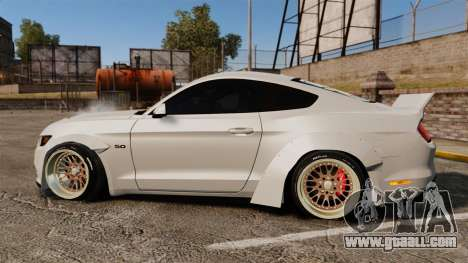 Ford Mustang 2015 Rocket Bunny TKF for GTA 4 left view