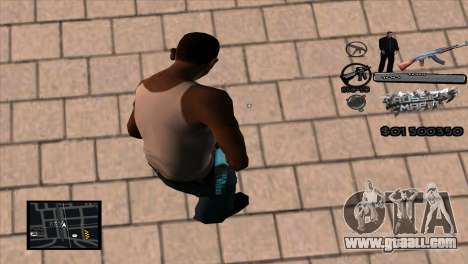 C-HUD Russian Mafia by Luigie for GTA San Andreas second screenshot