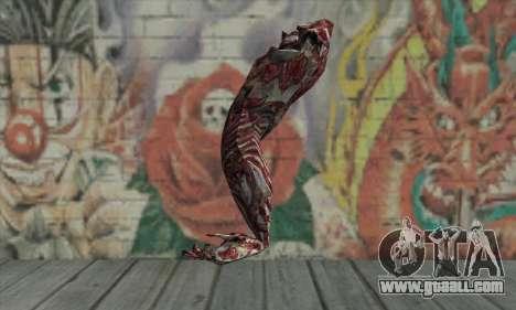 Dead hand for GTA San Andreas