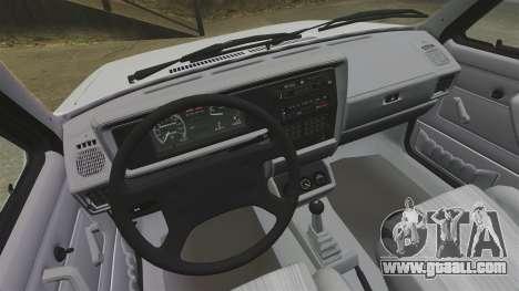 Volkswagen Rabbit GTI 1984 for GTA 4 back view