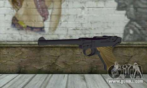 LugerP08 for GTA San Andreas