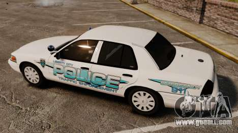 Ford Crown Victoria Traffic Enforcement [ELS] for GTA 4 side view