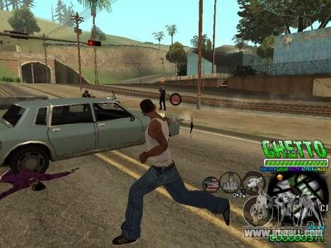 C-HUD Ghetto Life for GTA San Andreas