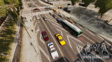 The real traffic for GTA 4