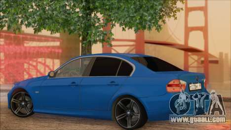 BMW 330i for GTA San Andreas left view