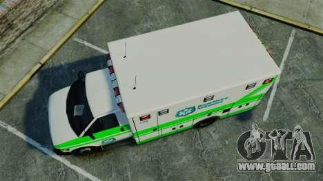 Brute Rural Metro EMS [ELS] for GTA 4 right view