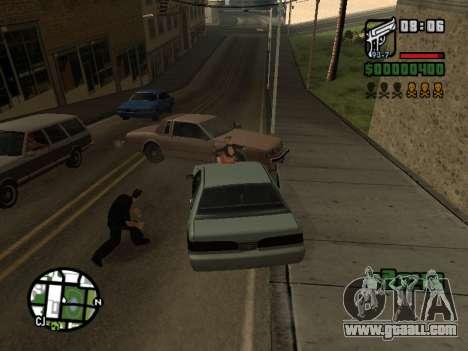 Ketchup on the hood for GTA San Andreas forth screenshot