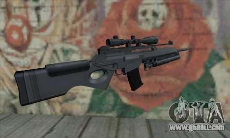SG550 for GTA San Andreas second screenshot