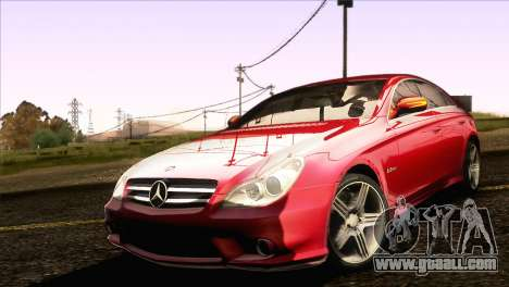 Mercedes-Benz CLS 63 AMG 2008 for GTA San Andreas left view