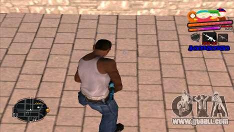 C-HUD South Park for GTA San Andreas second screenshot