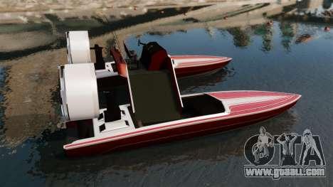 Catamaran-Jetmax Aero- for GTA 4 left view