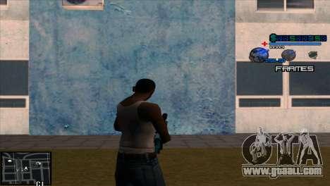 C-Hud Niko for GTA San Andreas second screenshot