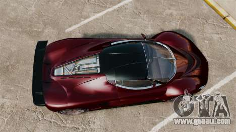 GTA V Grotti Turismo R v2.0 for GTA 4 right view
