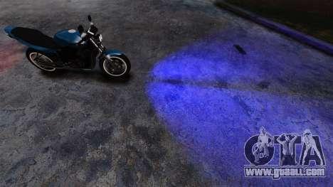 Blue headlights for GTA 4 second screenshot