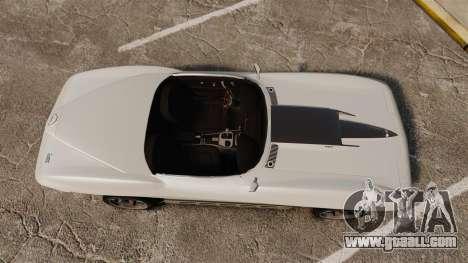 Chevrolet Corvette Stingray for GTA 4 right view