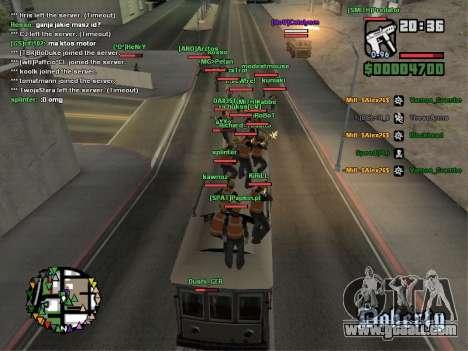 SA-MP 0.3z for GTA San Andreas eighth screenshot