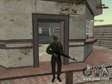 The Modern RUSSIAN Army for GTA San Andreas eighth screenshot