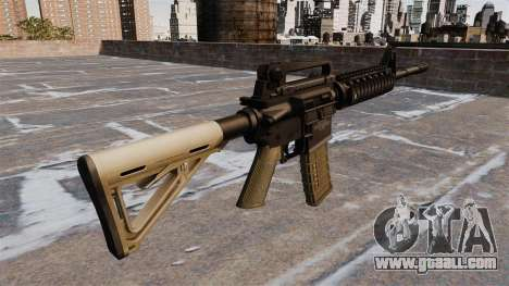 Automatic carbine M4 Chris Costa for GTA 4 second screenshot