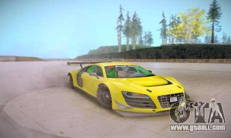 Audi R8 LMS Ultra v1.0.0 for GTA San Andreas inner view