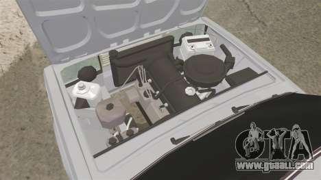VAZ-2107 Lada for GTA 4 back view
