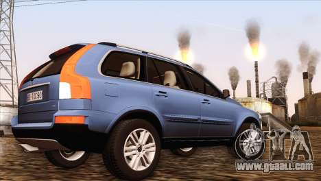 Volvo XC90 2009 for GTA San Andreas back left view